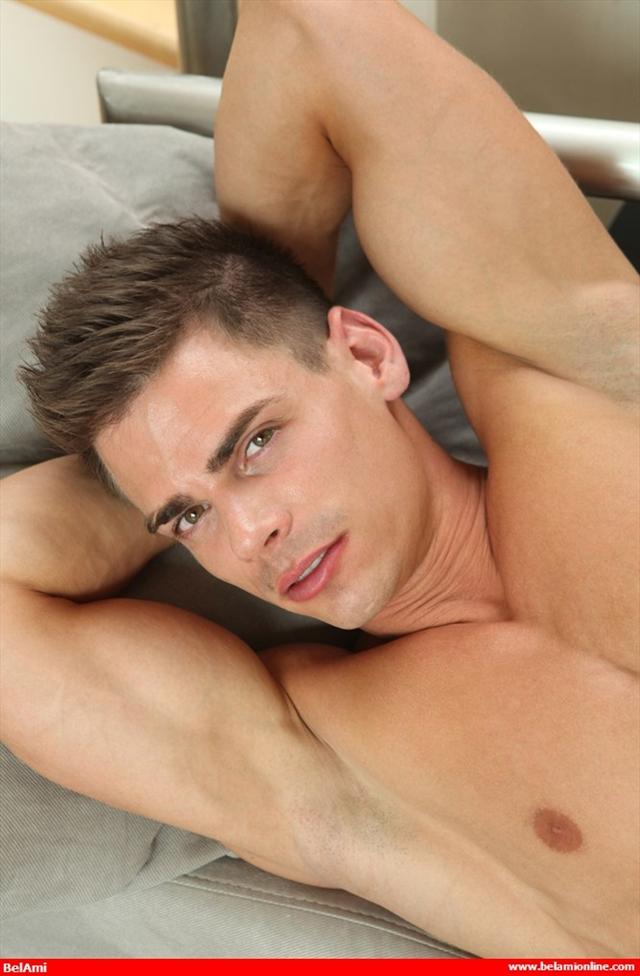 Ripped-muscle-twink-Lorenzo-Gray-naked-jerks-huge-uncut-cock-Belami-08-photo