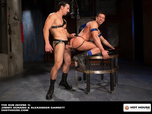 Muscle-hunk-sub-Alexander-Garrett-ass-fucked-Jimmy-Durano-huge-dick-Hothouse-07-photo