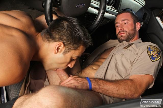 Sexy-gay-cop-Vinny-Castillo-fucks-ass-of-Ray-Diaz-gay-sex-police-car-Next-Door-Buddies-06-photo