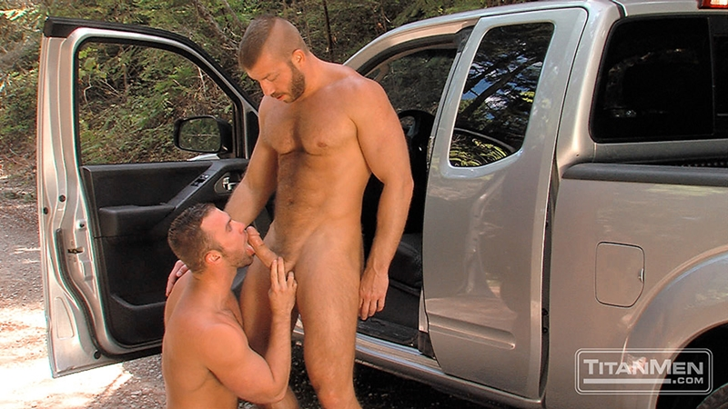 TitanMen-outdoors-gay-sex-woods-Hunter-Marx-Trent-Davis-sucks-big-muscle-cock-stroking-rimming-butt-man-hole-hairy-pecs-Fucking-006-tube-video-gay-porn-gallery-sexpics-photo