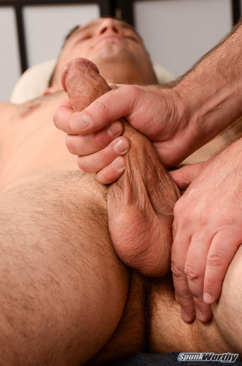 Derek Begins Breathing Deeply As His Balls Get Really Tight