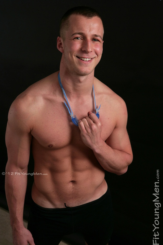 Hottest new naked young sportmen stripped of their kit at Fit Young Men