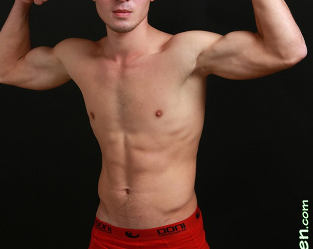 Underwear guys, young sportsmen almost naked at Fit Young Men
