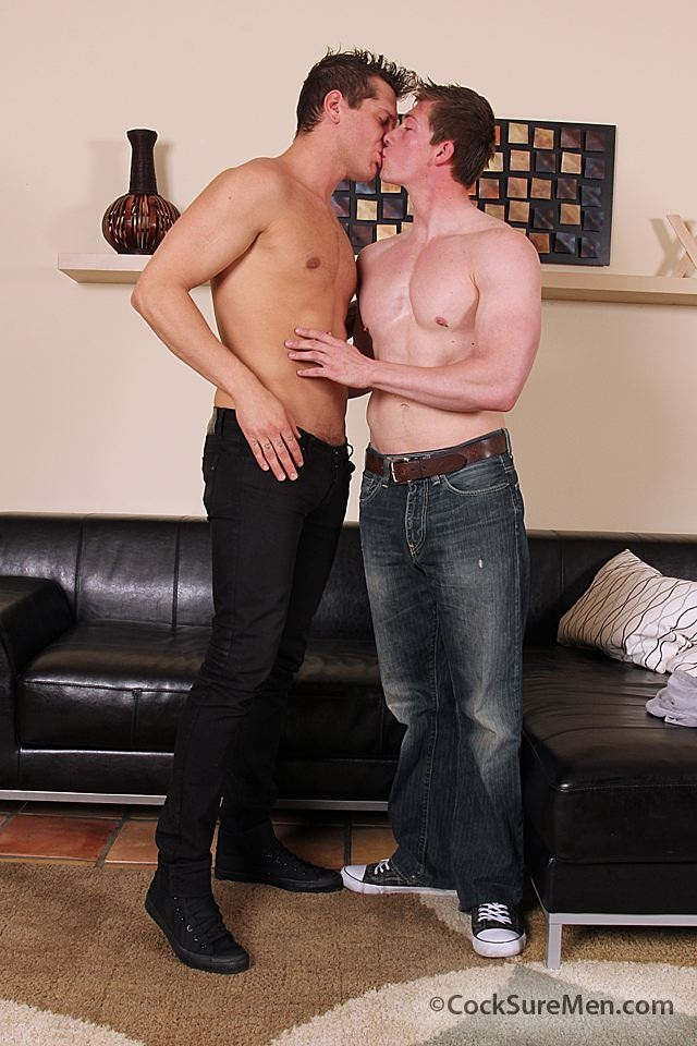 Will Parks and Parker London first time fuck at Cocksure Men