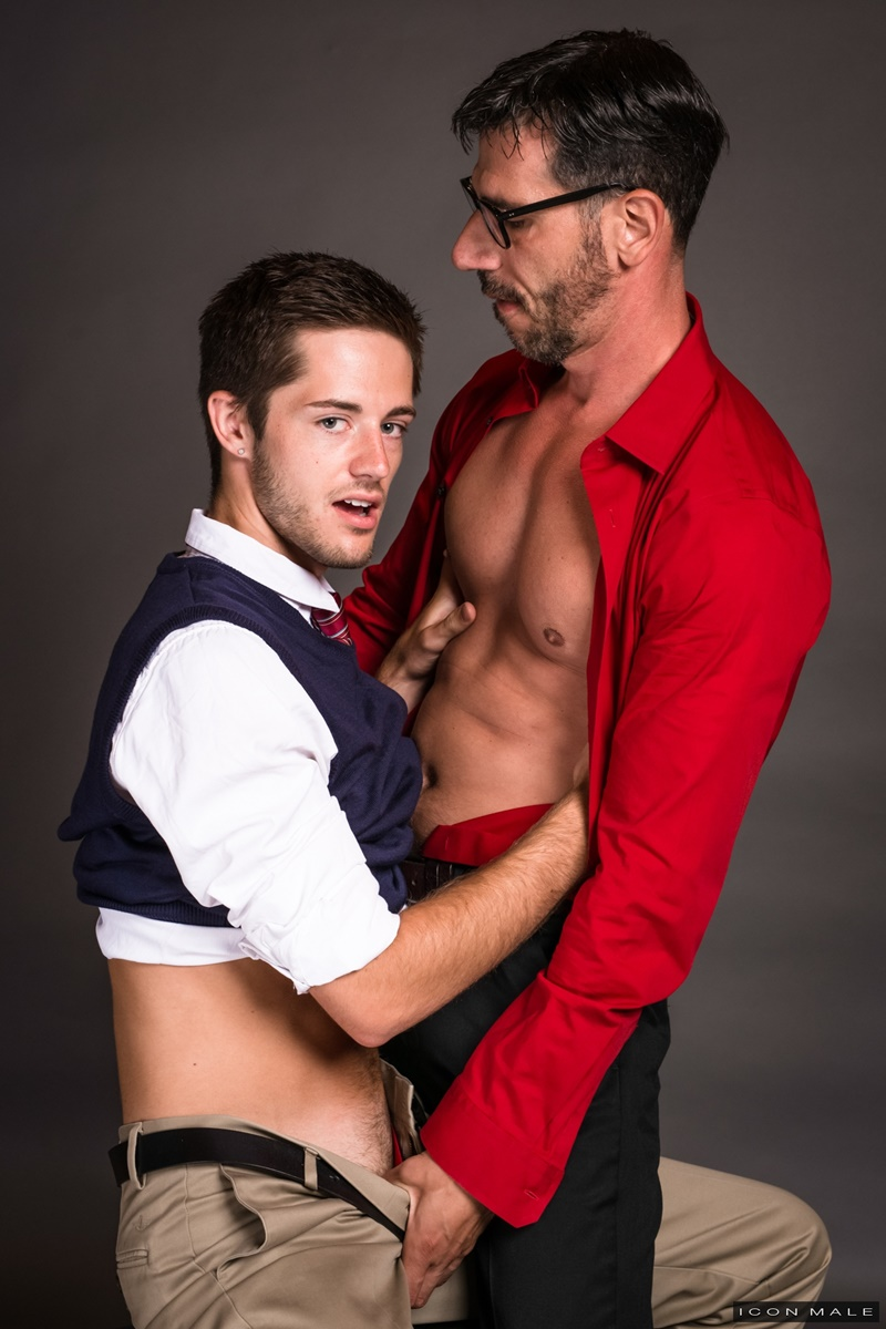IconMale-Bryce-Acton-Italian-professor-Tony-Salerno-dorm-room-young-naked-college-student-boy-school-uniform-big-thick-dick-low-hanging-balls-018-gay-porn-sex-gallery-pics-video-photo
