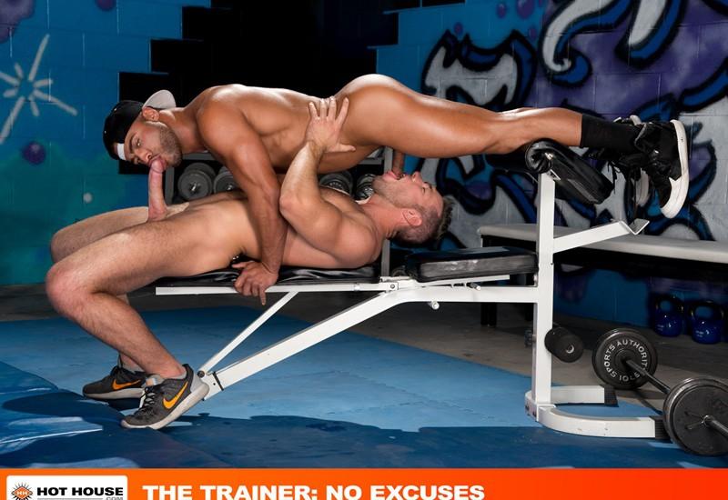 Amazing stunning gym floor orgy bomb