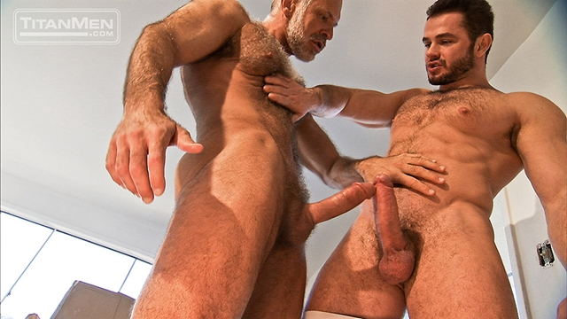 titan men Allen Silver and Clay Foxe