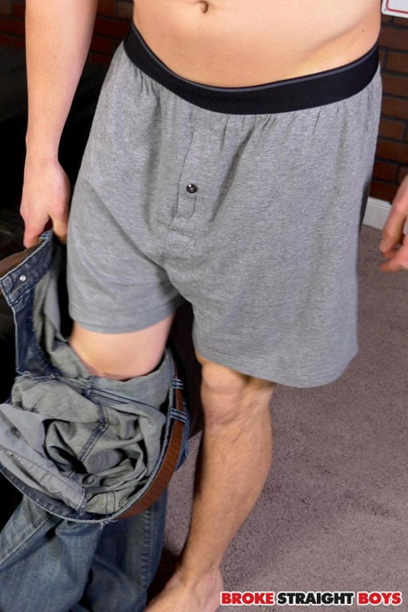 broke straight boys Antonio Drake shaves his balls and pubic bush