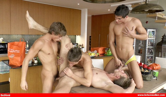 belami 2  Kinky Angels and Lance Thurber
