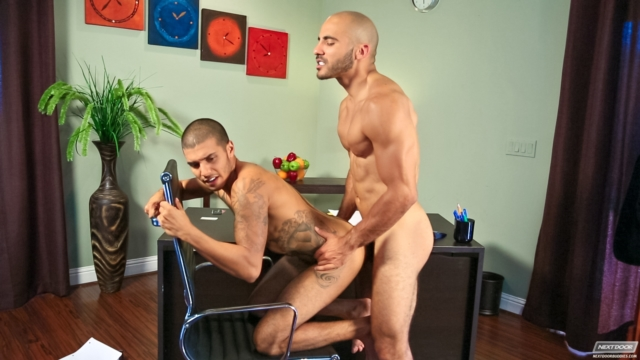 next door buddies Noah Rods and Riddick Stone