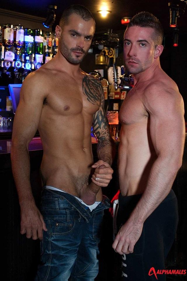 alphamales Scott Hunter and Issac Jones
