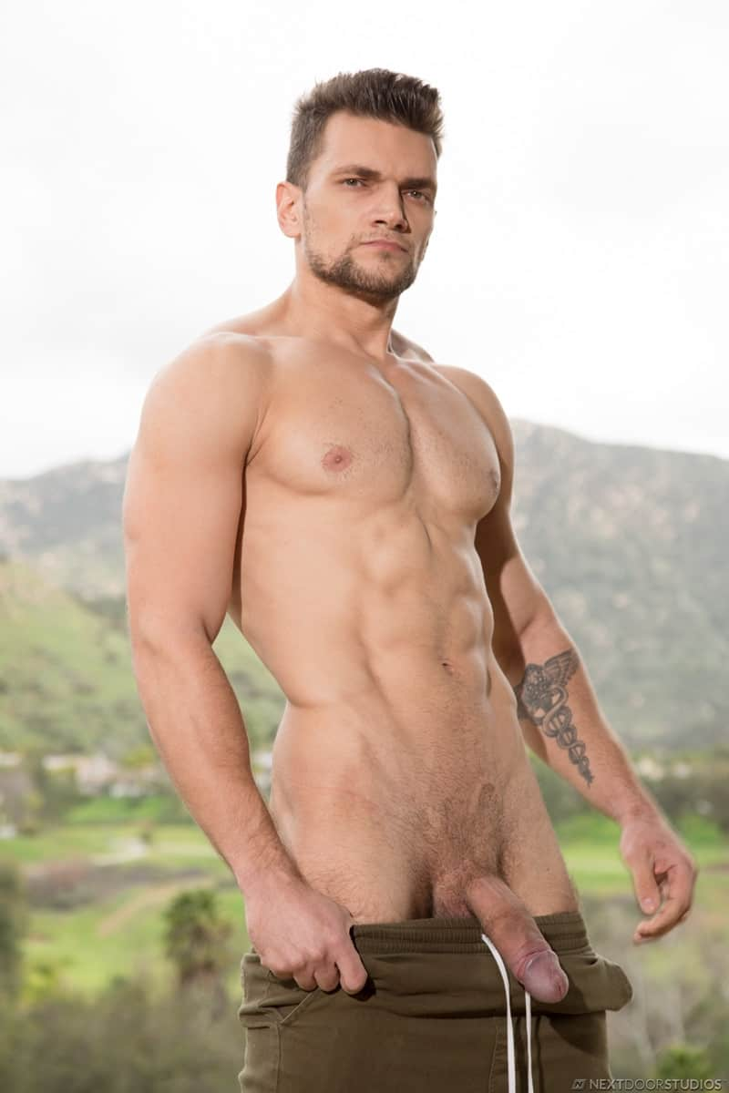 Men for Men Blog Gay-Porn-Pics-005-Adonis-Cole-Zak-Bishop-Tattooed-young-hunk-hot-bubble-butt-fucked-huge-dick-NextDoorBuddies Tattooed young hunk Zak Bishop's hot bubble butt fucked by Adonis Cole's huge dick Next Door Buddies